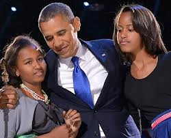Barack & children