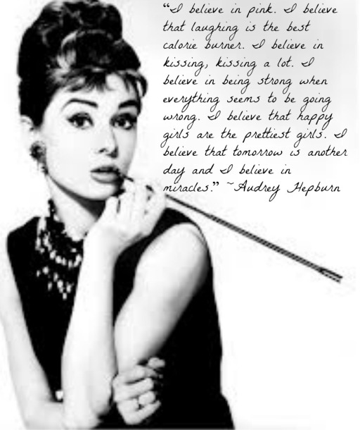 Audrey & Quote