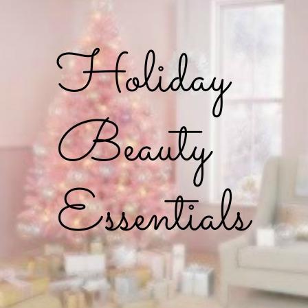 holiday beauty essentials image