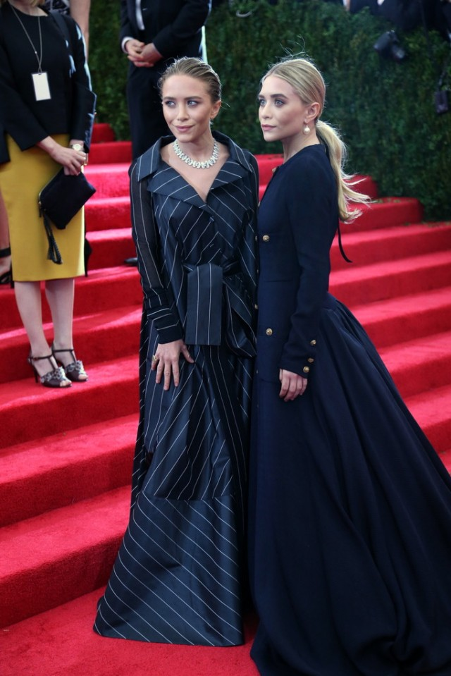 Mary Kate & Ashley Olsen MetGala