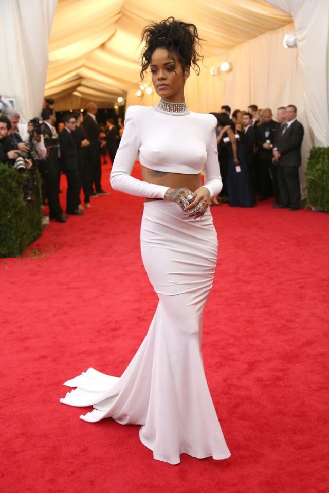 Rihanna MetGala