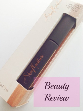 Shea Moisture Creme Concealer Review