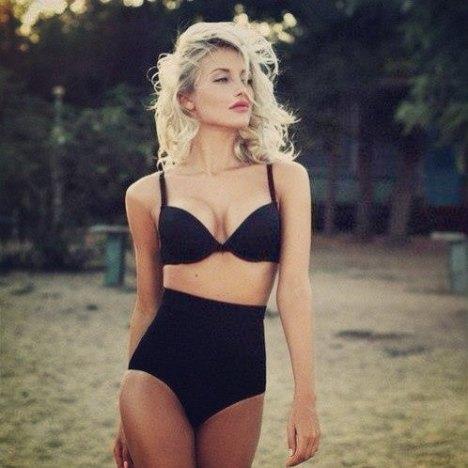 Swimsuit_High Waist Bikini Bottom